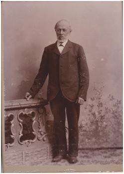 Carl Gustaf Löfgren Porträttet  taget av Thorin, Åtvidaberg